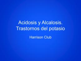 Acidosis & Alcalosis