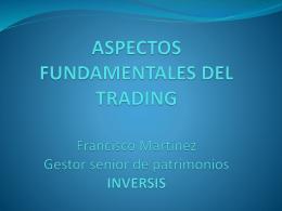 aspectos fundamentales del trading