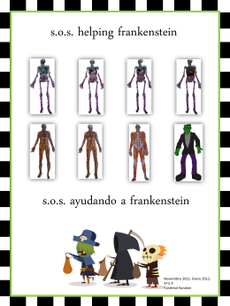 Portada proyecto Frankenstein - year22011-2012