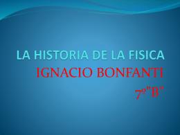 LA HISTORIA DE LA FISICA - Wiki de 7º Grado