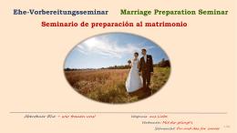 Ehevorbereitungsseminare