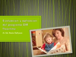 Evaluación y aplicación DIR floortime