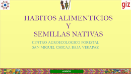 SEMILLAS NATIVAS - G