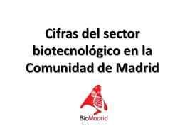 Cifras del sector biotecnológico en la Comunidad de