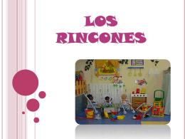 LOS RINCONES - didacticaeducacioninfant