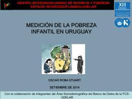 MEDICION DE LA POBREZA INFANTIL EN URUGUAY