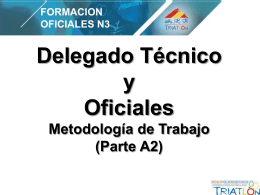 2013 Delegado Técnico Curso Nivel 3 – Calella (Parte A2)