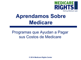 2014 Medicare Rights Center