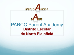 PARCC Parent Academy