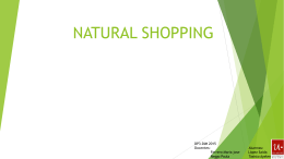 NATURAL SHOPPING