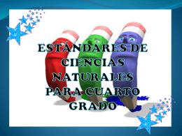 ESTANDARES DE 4 CIENCIAS NATURALES (435,8