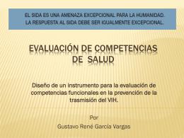 Evaluación de competencias de prevención en el área de la salud