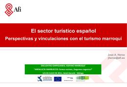 III. Potencial de vinculación entre el turismo español y
