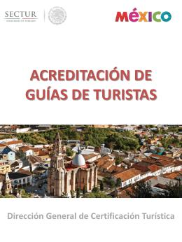requisitos guía de turistas especializado en actividades específicas
