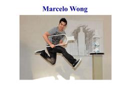 Marcelo Wong Joven escultor que destaca en el medio, siendo