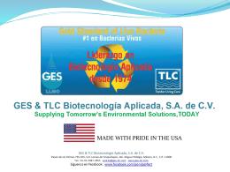 GES & TLC Biotecnología Aplicada, SA de CV