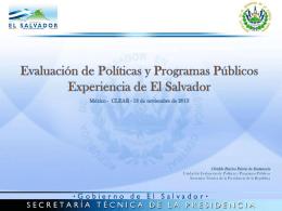 Programa Anual de Evaluaciones.