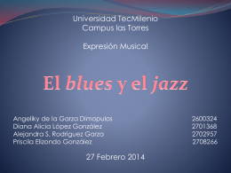 Tema 8. Jazz y Blues