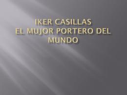 IKER CASILLAS el mujor portero del mundo - OasisD2-2012-2013