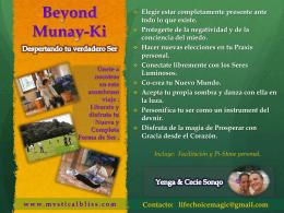 Beyond Munay KI
