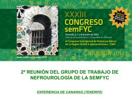 Canarias - Encuentros en Urología