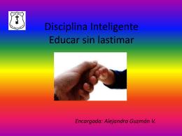 Disciplina Inteligente Educar sin lastimar