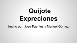 Quijote Expreciones
