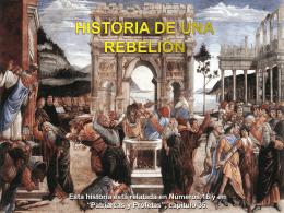 historia de una rebelión