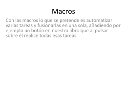 Macros - WordPress.com