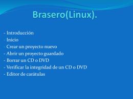 Brasero(Linux)