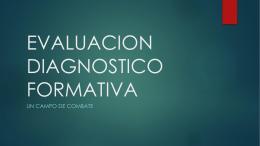 Presentación Evaluación Diagnostico Formatica