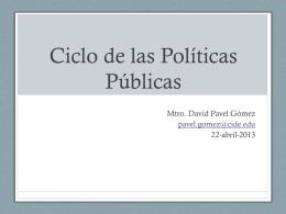 Módulo III-Políticas Públicas