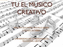 TU EL MUSICO CREATIVO