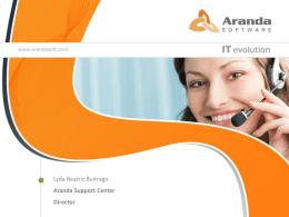 Por que Aranda Software es la mejor opción?