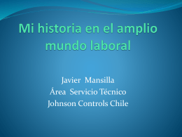 Presentación Javier Mansilla