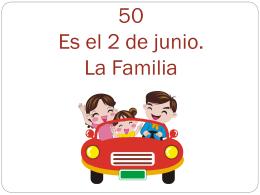 Capítulo 6 - La Familia