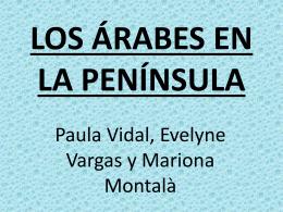 LOS ÁRABES EN LA PENÍNSULA