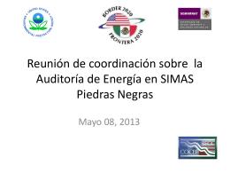 Reunión de los Grupos Regionales de Trabajo de Arizona *Sonora