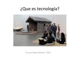 Que es tecnología argentina