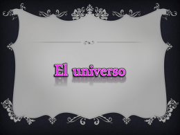El universo - OscarBlanquicettA