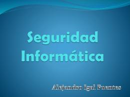 Seguridad informática powerpoint