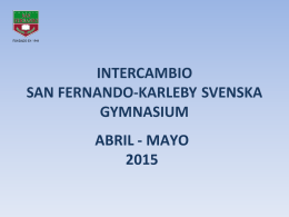 Diapositiva 1 - Colegio San Fernando