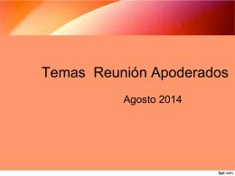 4a reunion apoderados - Colegio Italiano Santa Ana