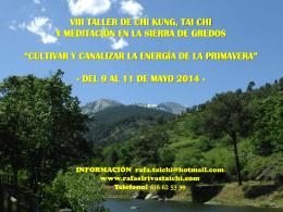 viii taller gred - Rafael Rivas Tai Chi , Chi Kung y Meditacion