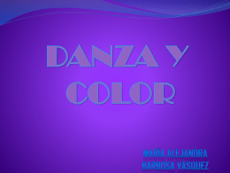 Danza y colorr - TCOLOR-GA2011-2