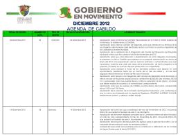H. AYUNTAMIENTO 2009 * 2012 AGENDA DE ACTIVIDADES DE