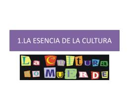La esencia de la Cultura ok