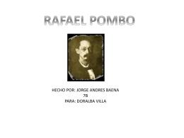 rafael pombo - Doralba Villa