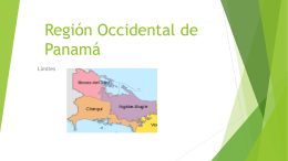 Región Occidental de Panamá
