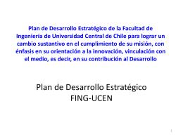 Planificación Estratégica de la Facultad de Ciencias Físicas y